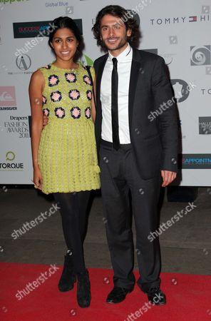 Meryl Fernandes and Marc Elliott
