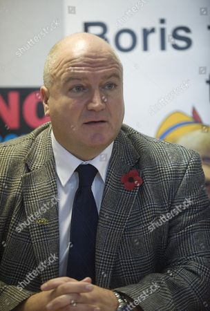 Editorial image of Bob Crow General Secretary Of Rmt Together With Gerry Doherty General Secretary Of Tssa At A Press Conference Updating The Tube Strike