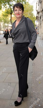 Stock Photo of Miriam O'Reilly Arrives The Central London Employment Tribunal.re BBC's Country File Programme.