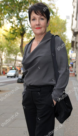 Editorial image of Miriam O'reilly Arrives The Central London Employment Tribunal...re Bbc's Country File Programme. Picture Murray Sanders