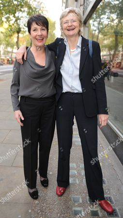 Stock Picture of Miriam O'Reilly Arrives The Central London Employment Tribunal.re BBC's Country File Programme. .also With Lawyer.name To Follow.