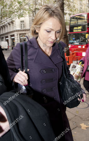 Jay Hunt Arrives For An Employment Tribunal Hearing In Holborn London.
