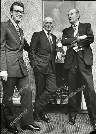 The Marquis Of Tavistock (woburn Abbey) Lord Montagu (beaulieu Abbey) The Marquess Of Bath (longleat House) At A Meeting Of Statley Home Owners