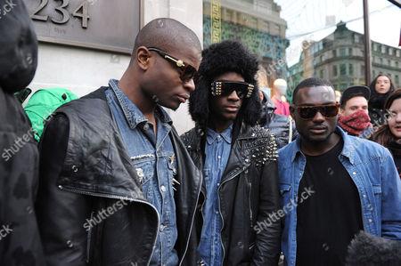 Editorial picture of Versace for H&M Launch, H&M Regent St, London, Britain - 17 Nov 2011