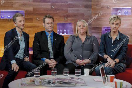 Phil Reay-Smith, Alastair Tallon, Karen Derbridge and Harry Derbidge