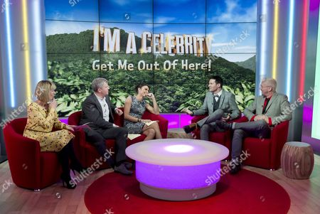 Kate Garraway, Adrian Chiles and Christine Bleakley with Colin McAllister and Justin Ryan