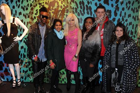 Editorial image of Versace for H&M Launch, H&M Regent St, London, Britain - 17 Nov 2011