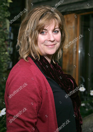 Editorial photo of Sarah Raven promoting her book 'Wild Flowers' at The Watermill Theatre, Bagnor, Berkshire, Britain - 16 Nov 2011
