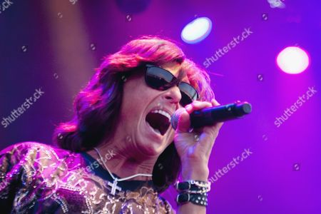 Joe Lynn Turner with Over The Rainbow at Rockweekend festival.