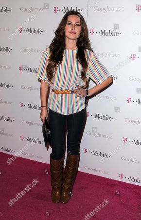 Editorial photo of T-Mobile and Google celebrate the Launch of Google Music, Los Angeles, America - 16 Nov 2011