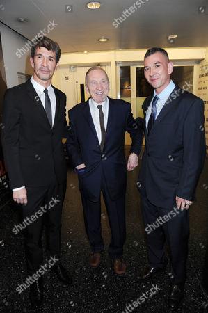 Alex Turnbull, William Turnbull and Johnny Turnbull