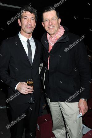 Alex Turnbull and Anthony Gormley