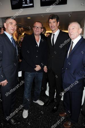 Johnny Turnbull, Sean Pertwee, Alex Turnbull and William Turnbull