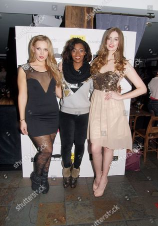 Stock Image of Lizzie Miller, Toccara Jones and Robyn Lawley