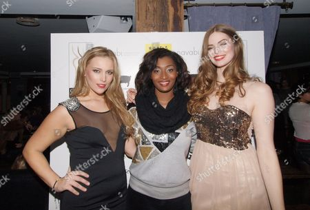 Editorial image of 'Curves in Couture' fashion show, Notting Hill, London, Britain - 17 Nov 2011