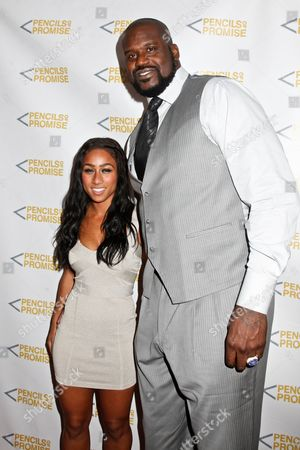 """Shaquille O'Neal and Nicole """"Hoopz"""" Alexander"""