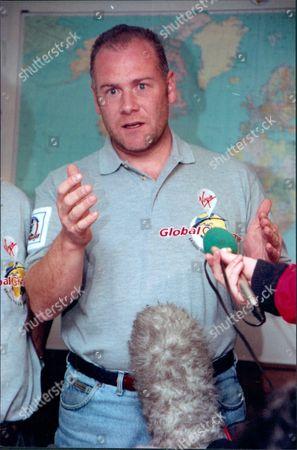 Rory Mccarthy Entrepreneur Member Of Richard Branson's Virgin Challenger Balloon Crew 1997.