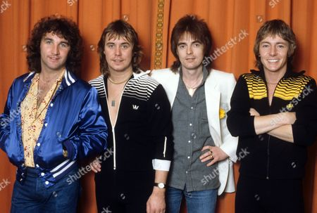 Smokie - Chris Norman, Pete Spencer, Terry Uttley and Alan Silson in Dublin, Ireland