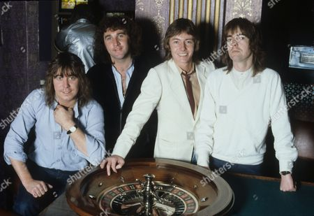 Smokie - Chris Norman, Terry Uttley, Alan Silson and Pete Spencer in the Isle of Man