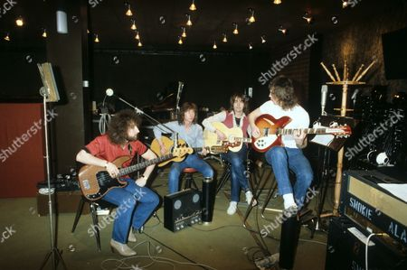 Stock Image of Smokie - Chris Norman, Terry Uttley, Alan Silson and Pete Spencer in Cologne