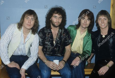 Smokie - Chris Norman, Pete Spencer, Terry Uttley and Alan Silson in Linz, Austria