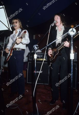 Smokie - Producer Mike Chapman and Chris Norman in Montreux