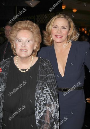Tammy Grimes and Kim Cattrall