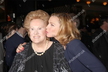 Stock Picture of Tammy Grimes and Kim Cattrall