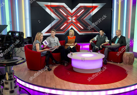 Sam Mann, Dan Lobb and Kate Garraway with Colin McAllister and Justin Ryan