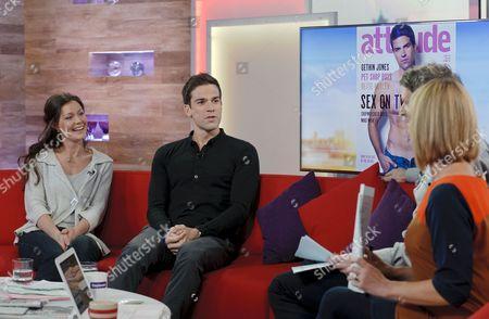 Charlotte Uhlenbroek and Gethin Jones with Dan Lobb and Kate Garraway.