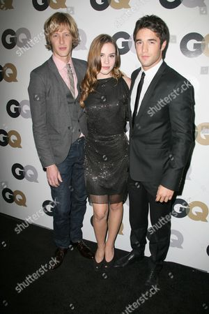 Gabriel Mann, Christa B Miller and Joshua Bowman
