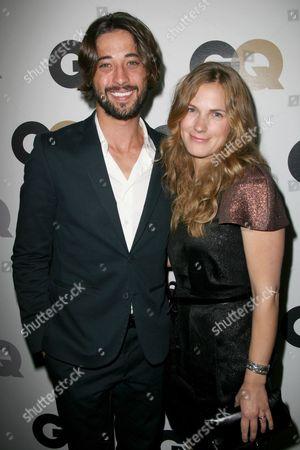 Ryan Bingham and wife Anna