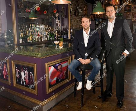 Editorial image of Bunga Bunga Bar and Pizzeria, Battersea Bridge Road, London, Britain - 07 Sep 2011