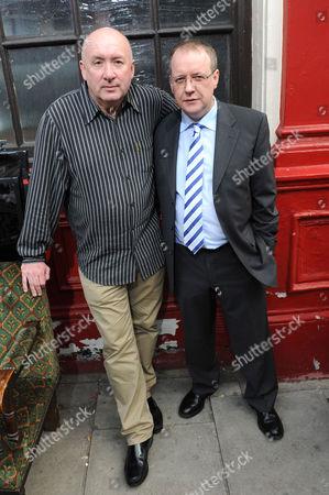 Director Ray Burdis with Paul Ferris