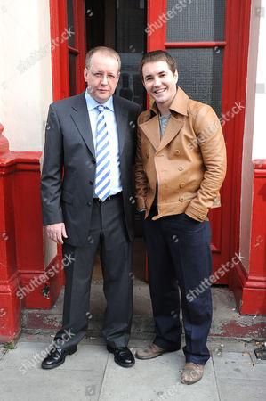 Paul Ferris and Martin Compston