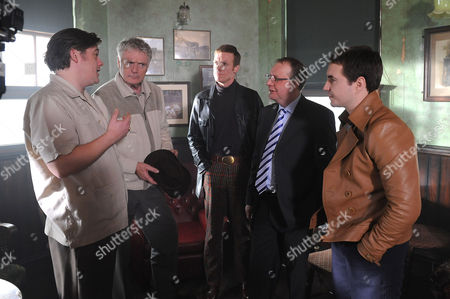 Stephen McColl, Patrick Bergin, Douglas Russell, Paul Ferris and Martin Compston