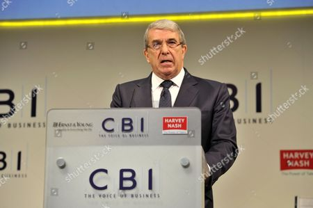 Sir Roger Carr, President of the CBI