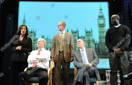 'The Riots' - Dona Croll as Diane Abbott, Alan Parnaby as John McDonnell MP,  Rupert Holliday Evans,  Tim Woodward as Iain Duncan Smith Steve Toussaint as Stafford Scott