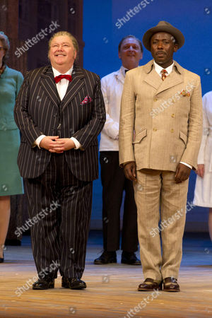 Martyn Ellis (Harry Dangle) and Trevor Laird (Lloyd Boateng)
