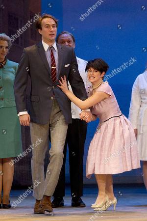 Oliver Chris (Stanley Stubbers) and Jemima Rooper (Rachel Crabbe)