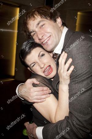 Jemima Rooper (Rachel Crabbe) and Oliver Chris (Stanley Stubbers)