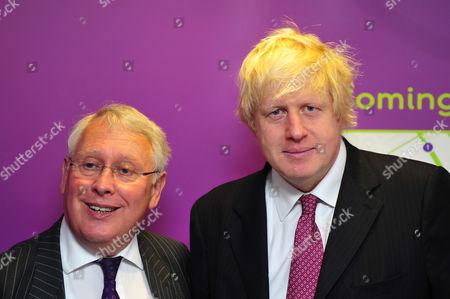 Stock Photo of Bob Neill MP and Boris Johnson