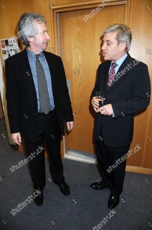Publisher Jeremy Robson and John Bercow