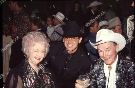 Dale Evans, Robert Carradine and Roy Rogers