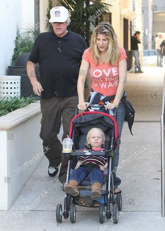 Gary Busey, Steffanie Sampson, Luke Sampson Busey