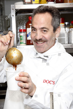 Editorial photo of Larry Thomas at Doc's Gourmet Cafe and Soup Bar in Philadelphia, America - 18 Nov 2011