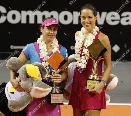 Editorial photo of WTA Tennis Tournament of Champions in Bali, Indonesia  - 06 Nov 2011