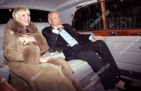 Sir Michael Winner and wife, Geraldine Lynton Edwards