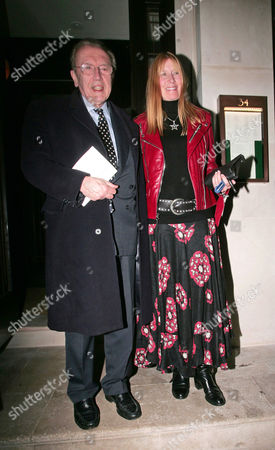 Sir David Frost and wife, Lady Carina Fitzalan-Howard