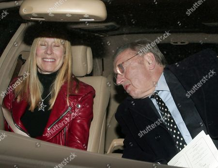 Sir David Frost and wife, Lady Carina Fitzalan-Howard.